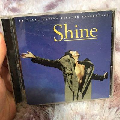 9.9新 shine original motion picture soundtrack  鋼琴師 CD 二手