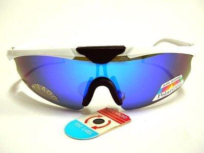 e視網眼鏡   e視網-P   WPM9977 強檔特價搶鮮購 偏光多層膜七彩藍水銀運動太陽眼鏡(鏡框有6種顏色)