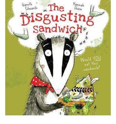 【英文繪好玩】The Disgusting Sandwich 很噁心的三明治