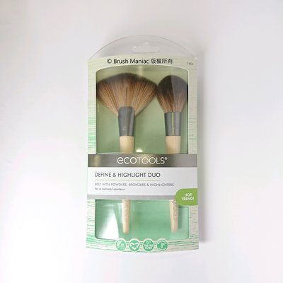 Brush Maniac - ecotools Define And Highlight Duo 修容打亮雙刷組