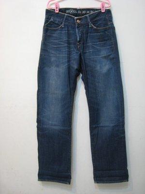 earnest sewn 布邊 牛仔褲/30 美國製