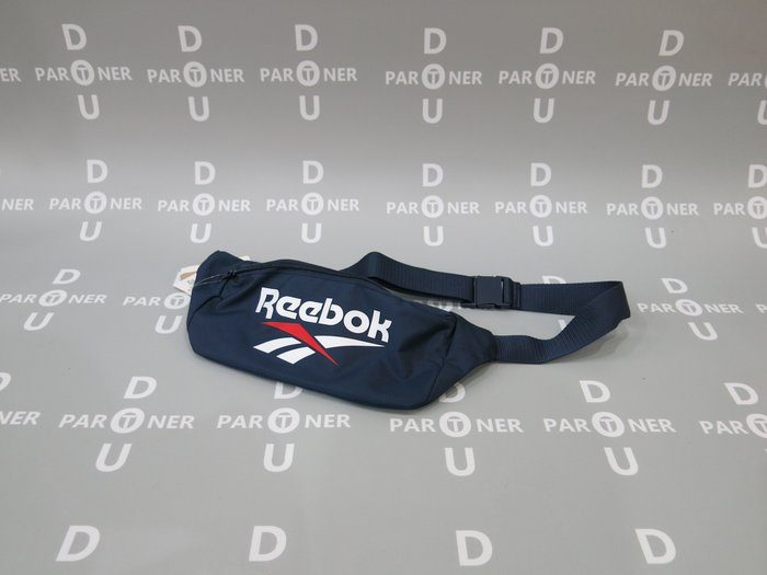 【Dou Partner】REEBOK CL VT WAISTBAG 腰包 小背包 藍色 男女款 FS1622