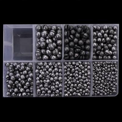 【圓形夾鉛-6B-直徑6.5mm-重3g-300個/組】開口咬鉛圓珠鉛磯釣海釣筏釣小配件(可混選)-76017