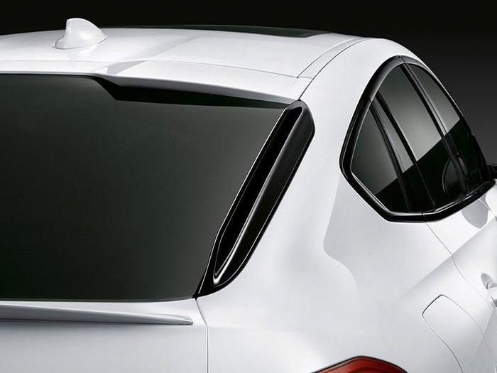【樂駒】BMW X6M F96 M Performance 原廠 高光黑 後擋風側翼 後車廂 車側 飾板 空力 外觀