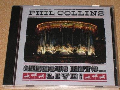 正版CD《菲爾柯林斯》超級演唱會專輯/ PHIL COLLINS Serious Hits Live   全新未拆