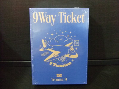 fromis_9 9 WAY TICKET KIHNO 智能卡 全新未拆封