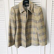 原價六萬 JAEGER 小香風銀蔥針織外套