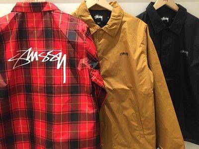 ☆ETW☆【一中店】STUSSY CRUIZE COACH JACKET 風衣外套 教練外套 夾克 現貨