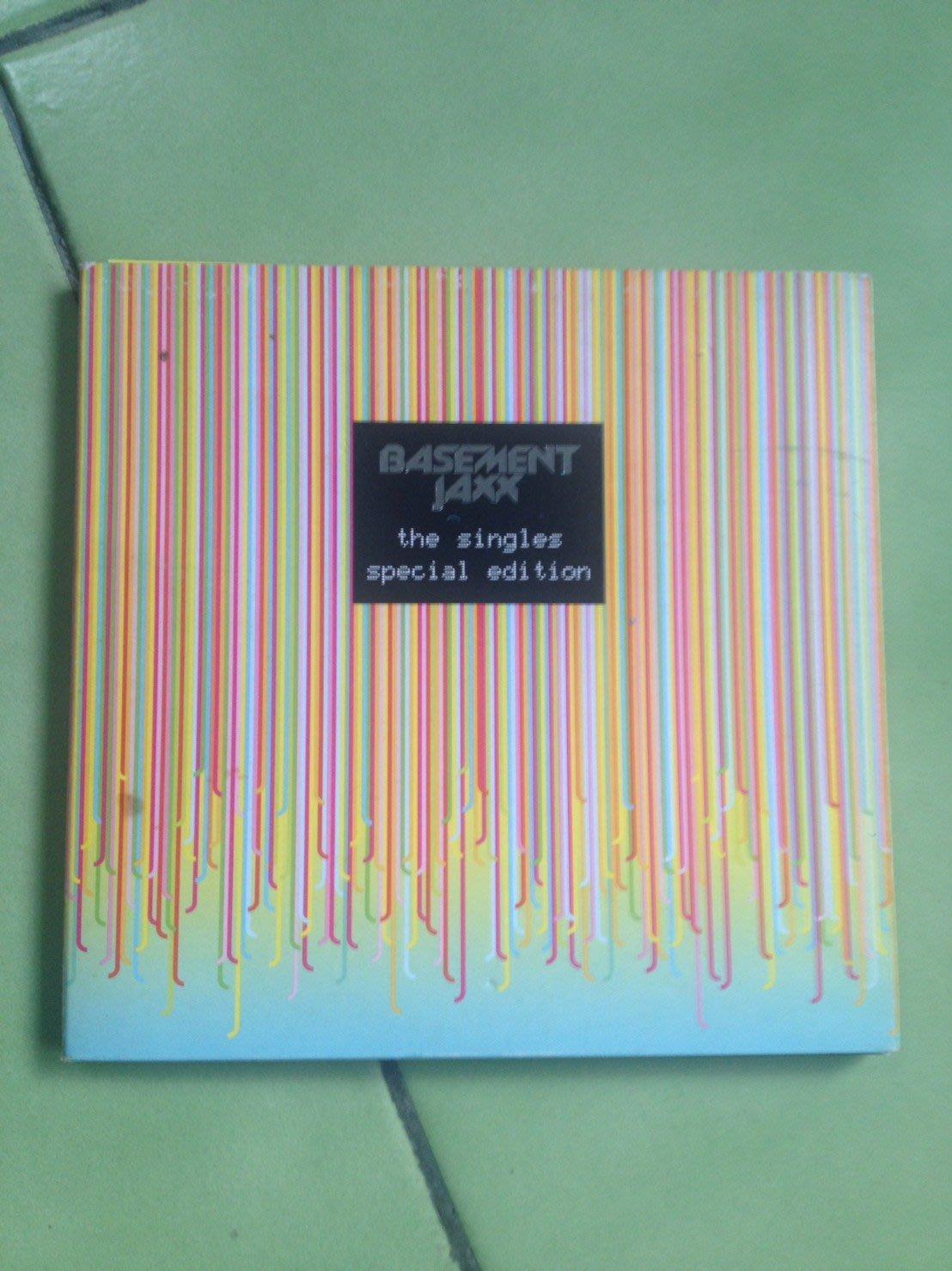(下標即結標)(絕版)Basement Jaxx地下室混音小子-The Singles單曲精選(英國版,2CD限量版)