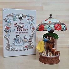 日本迪士尼 白雪公主 小鹿斑比 LED 夜燈 擺飾 燈飾