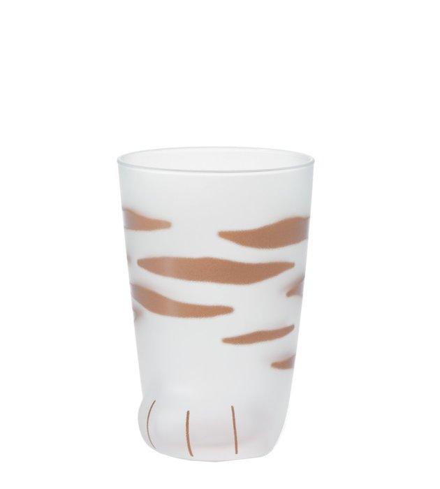 ☘小宅私物☘ 日本 ADERIA 貓腳杯 (線條) 300ml 盒裝 水杯 飲料杯 玻璃杯 原廠正貨 現貨附發票