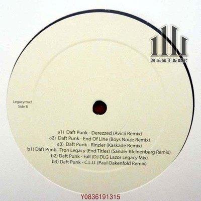 爆款CD.唱片~訂】蠢朋克 Daft Punk Tron Legacy (Part2) LP 圖案膠