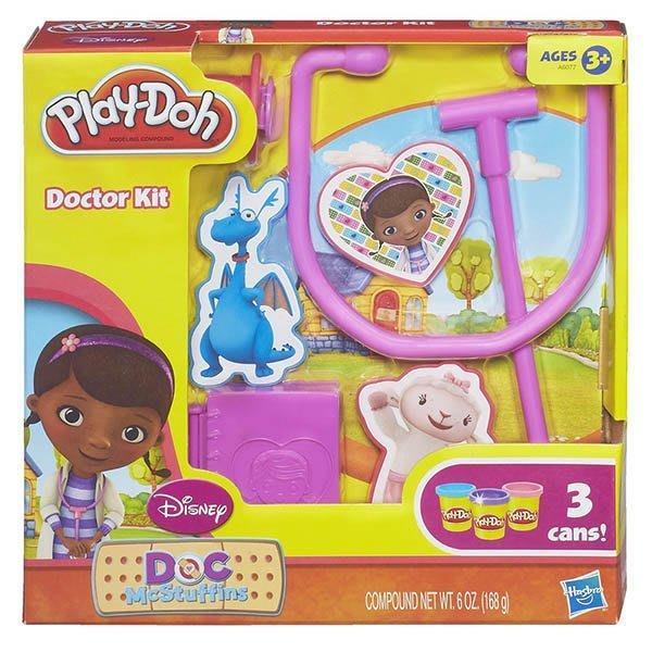 【W先生】培樂多 Play-Doh 黏土 迪士尼 小醫師大玩偶遊戲組 創意DIY黏土