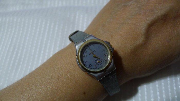 全心全益低價特賣*伊陸發鐘錶百貨*高級臨界點REGAL皮帶女腕錶 *拍賣到財運旺旺來.
