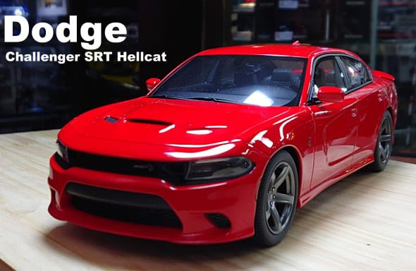 【模型車收藏家】Dodge Charger SRT Hellcat2019。可分期