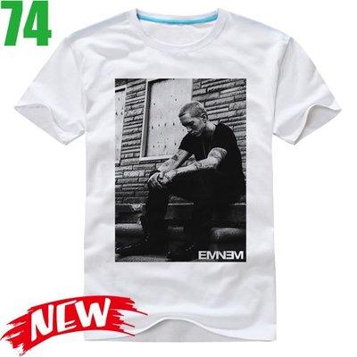 Eminem【阿姆】短袖嘻哈饒舌(HIP-HOP RAP)歌手T恤(共6種顏色可供選購) 購買多件多優惠!【賣場十三】