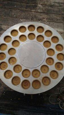 拍賣二手傳統圓型紅豆餅爐 南門二手餐飲設備大賣場