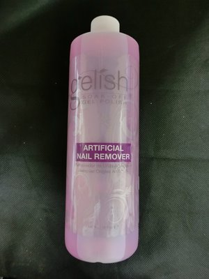 Harmony gelish美國原裝進口 可卸式凝膠卸甲水 480ml Soak off Remover-Refill