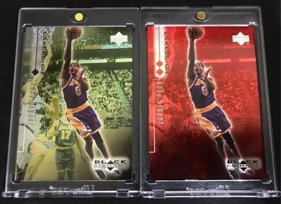 🐍1998-99 Black Diamond Double Diamond #46 Kobe Bryant (兩張含Single Diamond)