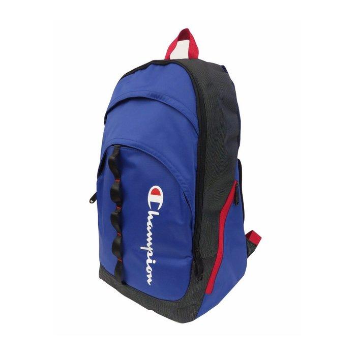 美國百分百【Champion】後背包 公事包 電腦包 上班 通勤 上課 旅行 登山 冠軍 男包 寶藍 打折 F762