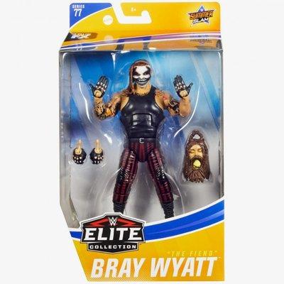 [美國瘋潮]正版WWE Bray Wyatt The Fiend Elite #77 惡魔家族最新面具造型精華版人偶公仔