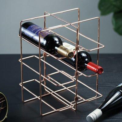 〖洋碼頭〗現代簡約紅酒酒架酒櫃擺件裝飾品創意家居客廳餐廳北歐桌面小擺設 fjs755