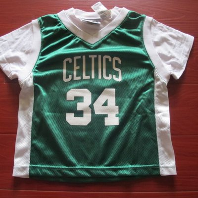 美國官網正品NBA兒童青年版球 衣塞爾提克34號 皮爾斯Paul Pierce免運