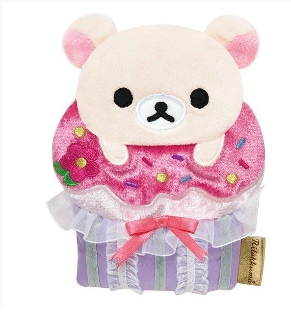 ☆台南卡拉貓專賣店 日版San-x懶妹甜點系列化妝收納隨身包 可今天寄明天到ck39201