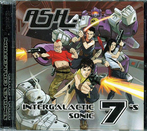 【塵封音樂盒】灰燼合唱團 Ash  - 銀河之聲:暢銷單曲全精選 Intergalatic Sonic 7's  2CD