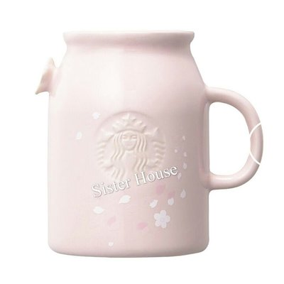 Starbucks Korea 2019 Cherry Blossom Mason Petal Mug 473ml 星巴克韓國櫻花瓷杯