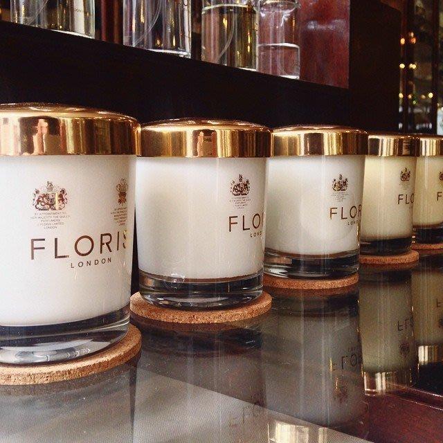 香氛 ◎英國◎ FLORIS LONDON 英國皇室御用認證 百年 香氛蠟燭 175g 玫瑰 薰衣草 牡丹 真品 正貨