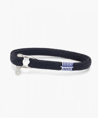【紐約范特西】預購 PIG & HEN VICIOUS VIK P19-290000 黑/黑扣 船繩手環