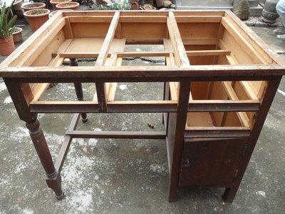 紫色小館----------紅檜桌子