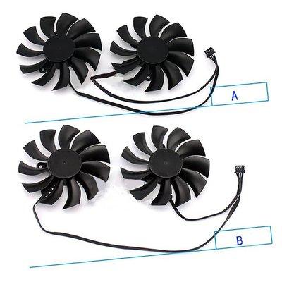 一組雙風扇 EVGA GTX950/960/970/980/980Ti顯卡散熱風扇  #川川而上#FHGV2451