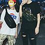 琳達購物中心- 香港代購- 港風男女大容量胸包...