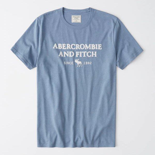 A&F Abercrombie & Fitch LOGO麋鹿短袖T恤 175-123-0096-020 HCO AF