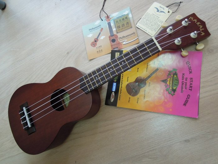 台南嘉軒樂器烏克麗麗 美國名牌 MAKALA MK-S 21吋 烏克麗麗 送 泡棉厚袋 樂譜 調音器 PICK