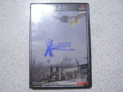 【~嘟嘟電玩屋~】PS2 日版光碟 ~ ESPN 冬季運動會 雪板高手 ESPN winter X Games Snow