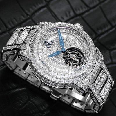 Jacob & Co. [NEW] Caviar Tourbillon Diamond Bracelet CV201.30.BD.BD.A30BA