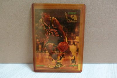 1995 Classic Basketball Rookies Autograph Dan Gross