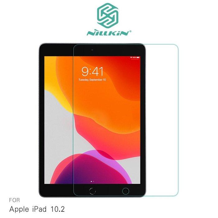 強尼拍賣~NILLKIN Apple iPad 10.2 Amazing H+ 防爆鋼化玻璃貼 9H硬度 滿版