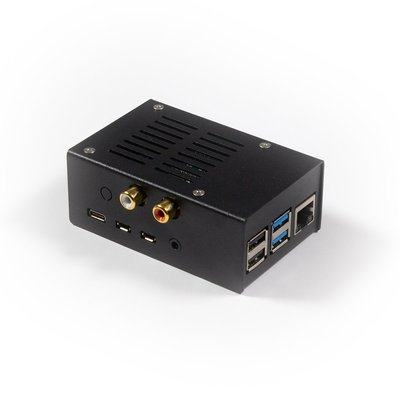STEEL CASE FOR HIFIBERRY DAC+/ADC, PI 4