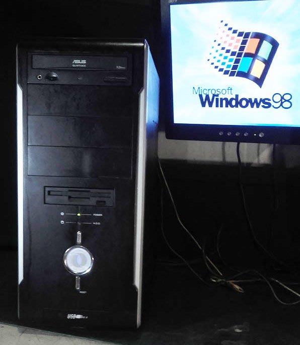 窮人電腦】跑Windows 98系統!自組有3個ISA插槽的Win98工業主機出清!雙北桃園免費送,外縣可寄!
