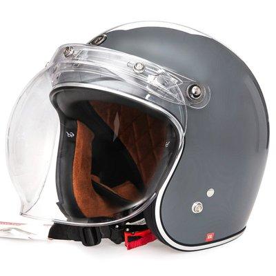 安全帽TORC摩托車復古頭盔男女半覆式機車個性夏季太子車半盔安全帽四季