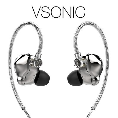 【音樂趨勢】VSONIC VS7 耳道式耳機 幻境銀