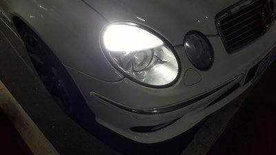 BENZ 賓士 原廠燈座 W203 W211  W219 W221 W251 LED方向燈帶日行燈二合一燈組