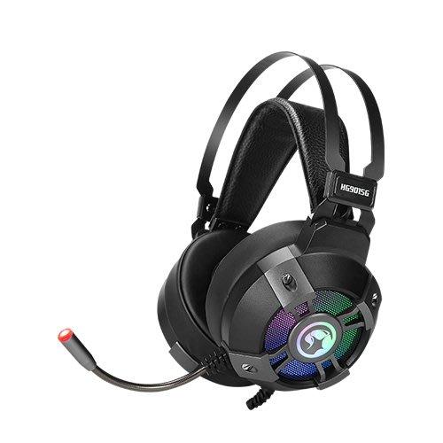 *硬派精璽* Marvo魔蠍HG9015G RGB耳罩式耳機麥克風000308000023