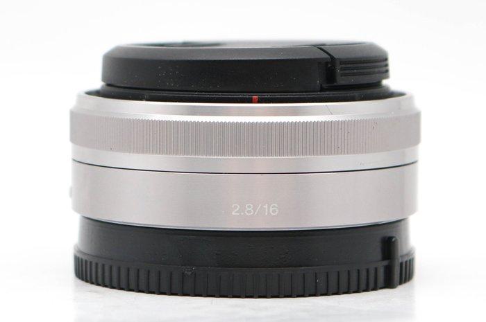 【高雄青蘋果3C】Sony E 16mm f2.8 SEL16F28 二手 定焦鏡 鏡頭 E-Mount #44045