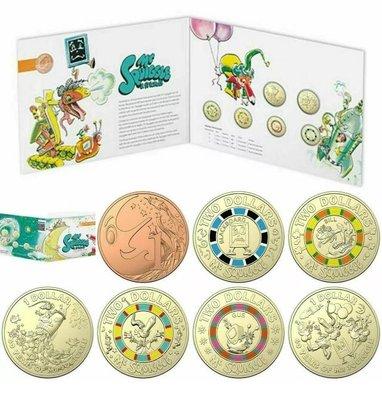 C's🇦🇺澳洲紀念幣 2019年 Mr Squiggle 一冊共7枚 Woolworths 經典童話 卡通 / WWS 硬幣 錢幣 特殊幣 流通幣 澳大利亞