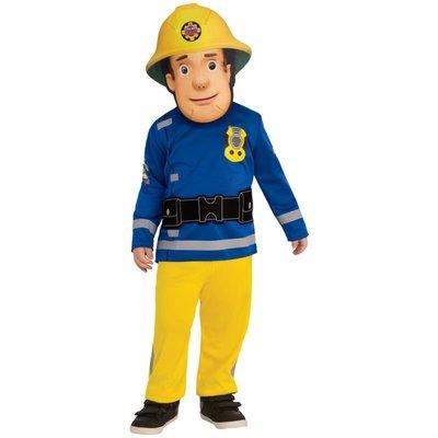 ~兒童消防員山姆衣服Fireman Sam小小救援隊角色扮演cos表演出服裝